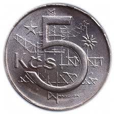 Pět korun československých