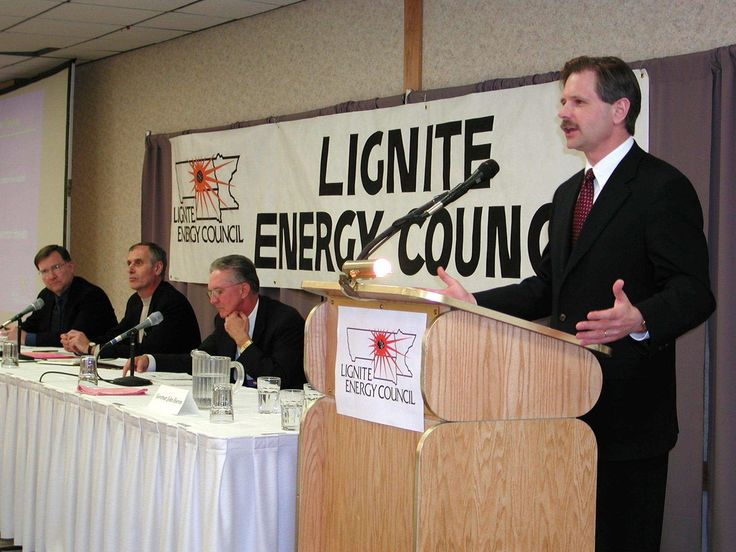#ThrowbackThursday    This photo from April 17, 2001, is of a panel discussing the Lignite Vision 21 Program at the Lignite Energy Council's spring Contractor/Supplier Meeting. North Dakota's new governor, John Hoeven, talked about the state's support for a new lignite-based power plant.