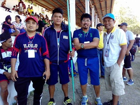 James Lozanez of Western Visayas took an upset win in the Secondary Boys Javelin with a hurl of 59.46m. Beating his team mate Ronald Lacson 57.30m. Lozanez was not even in the Top 8 last year. Lacson improved his best from his last years winning throw of 55.   #Antique (province) #Chinese Filipino #Department of Education (Philippines) #Elma Muros #Filipinos #Muntinlupa #National Schools Press Conference #Palarong Pambansa #Philippines #President of the Philippines