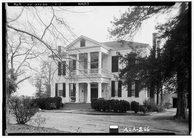 Glencairn, Tuscaloosa Street, Greensboro, Hale County, AL - Photos from Survey HABS AL-266   Library of Congress
