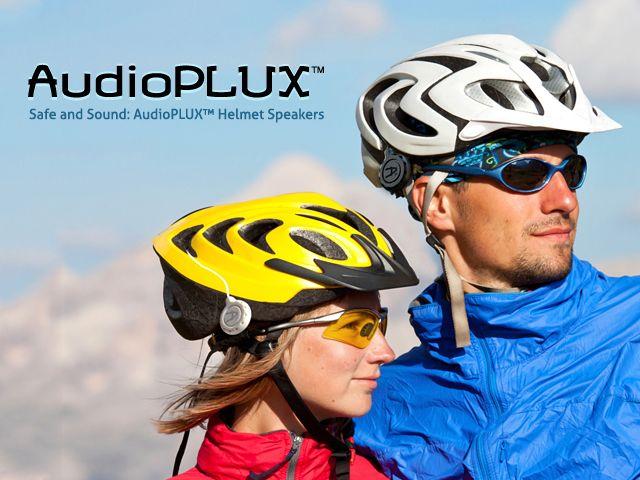 Safe and Sound: Audioplux™ Helmet Speakers