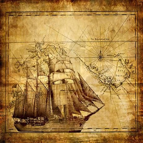 15 best bathroom ideas images on pinterest bathroom ideas weathered pirate map shower curtain on cafepress sciox Gallery