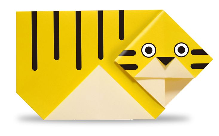 Origami A Tiger