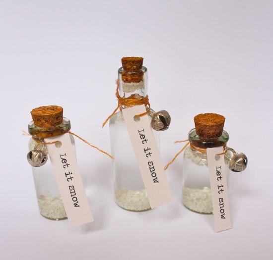DIY snowglobes also make mini bottle snowglobe charms with mini bottles…                                                                                                                                                                                 More