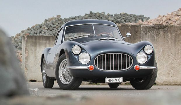 1953 Fiat 8V Series 1 Berlinetta... My cousin has a similar blue one and it is gorgeous!
