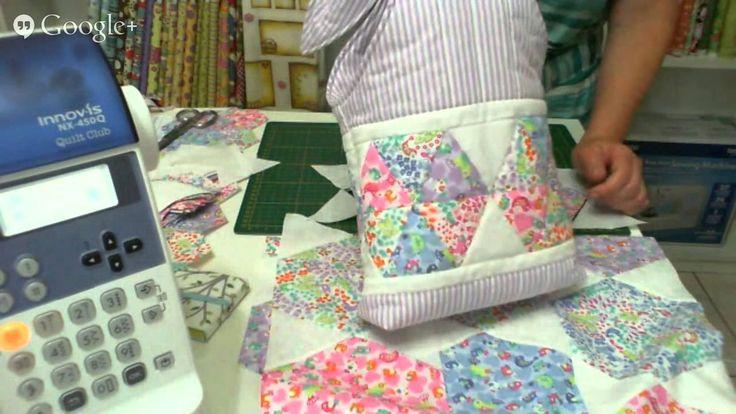Patchwork Ao Vivo com a Tia Lili #9: como fazer uma bolsa com retalhos (...