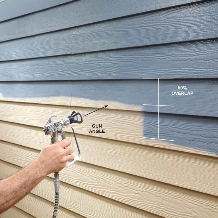 Airless paint sprayer tips for exterior paint jobs there s no more efficient way to deliver - Paint coverage calculator exterior plan ...