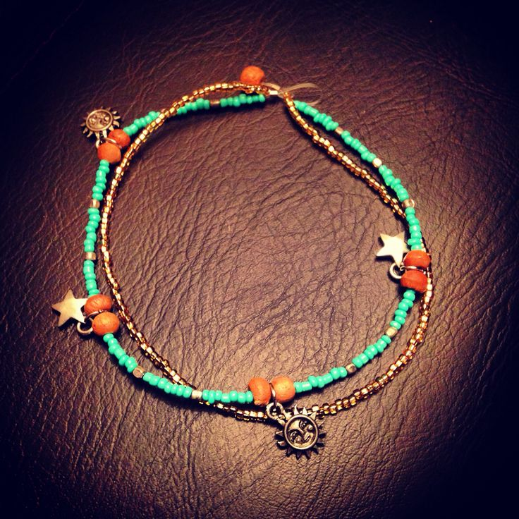 Anklet! Made by Me.