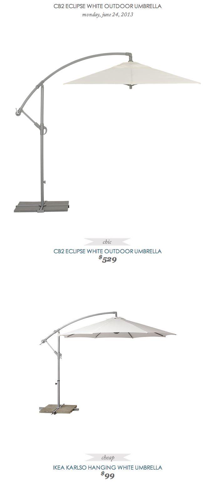 1000 ideas about outdoor umbrellas on pinterest patio for Ikea cantilever umbrella