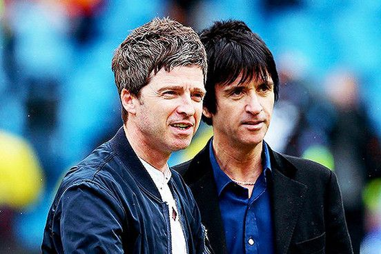 Johnny Marr and Noel Gallagher watch Manchester City win Premier League title | News | NME.COM