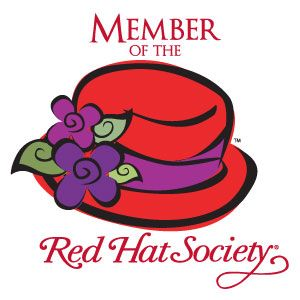 Red Hat Society Logo | Red Hat Society Name Badge Artwork # S3