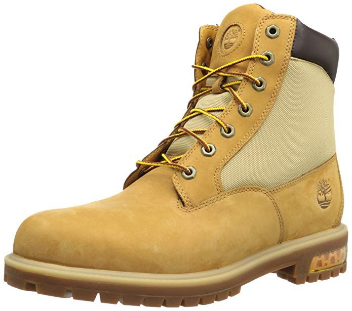trabajo Compañero Desplazamiento  Timberland Men's 6 Inch Premium Helcor Fabric Boot Review   Fabric boots,  Boots, Timberland boots mens