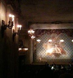 Teatersalongen  i Drottningholms Slottsteater Photo: ©Lillemor Brink