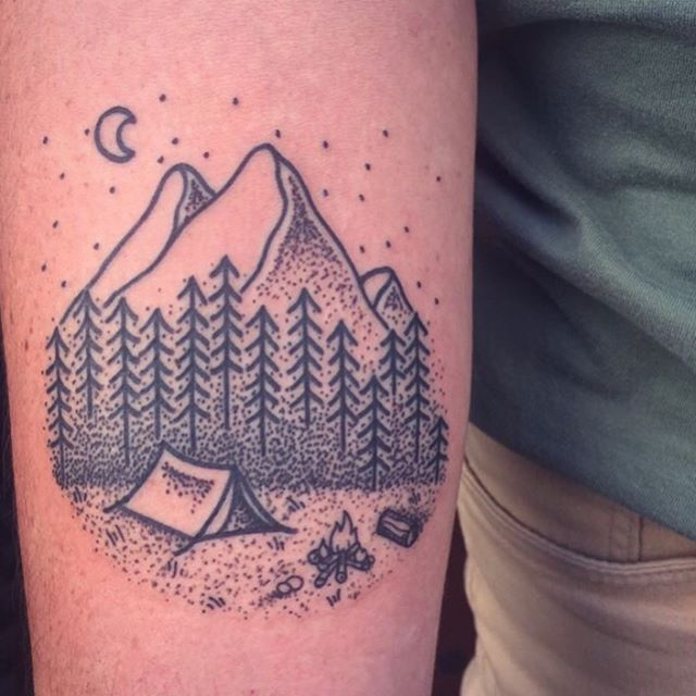10+ Ideas About Hiking Tattoo On Pinterest