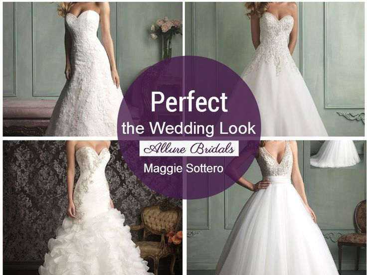 Perfect the Ultimate Wedding Look with these picture-perfect gowns from Allure Bridals, an Amante Bridalwear design. See page 8 in our JUNE edition for more