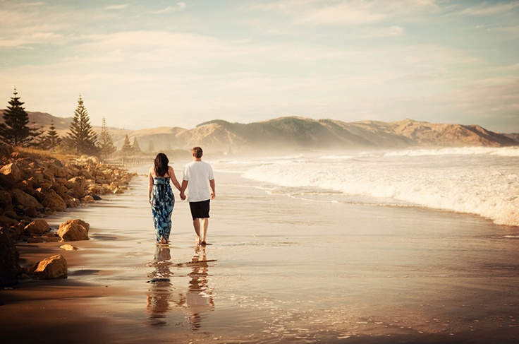 Hawkes Bay Wedding Photographer Engagement Photo Session Waimarama Beach