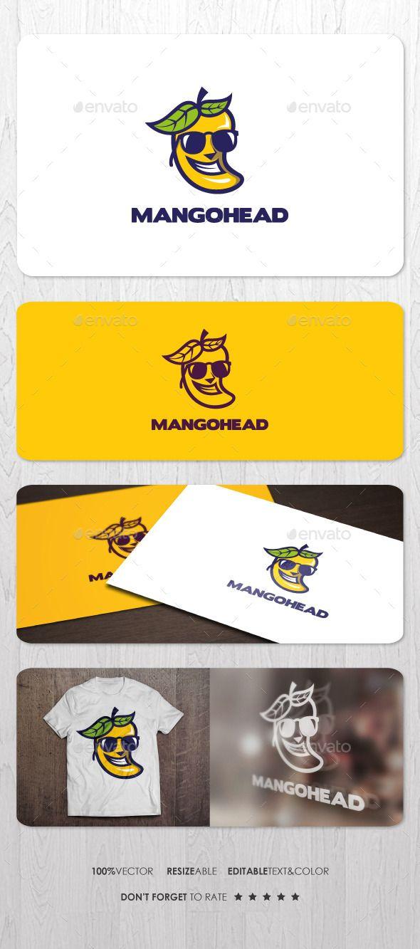 Mango Head Logo