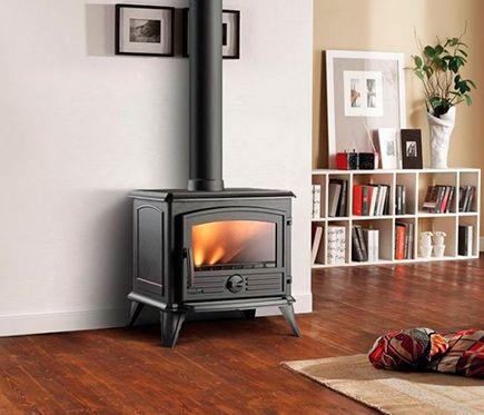 8 best home pece a krby images on pinterest wood burning stoves kitchen stove and range - Estufas de lena leroy merlin ...