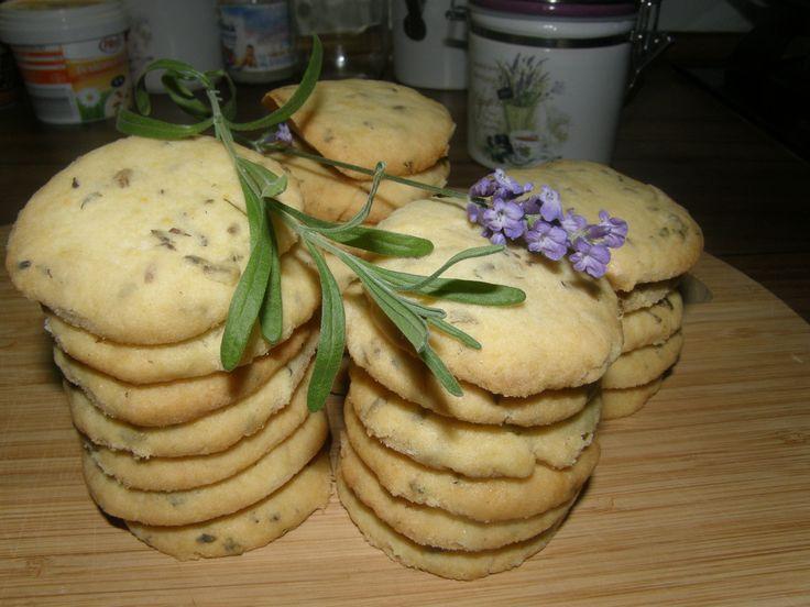 Levandulové+sušenky