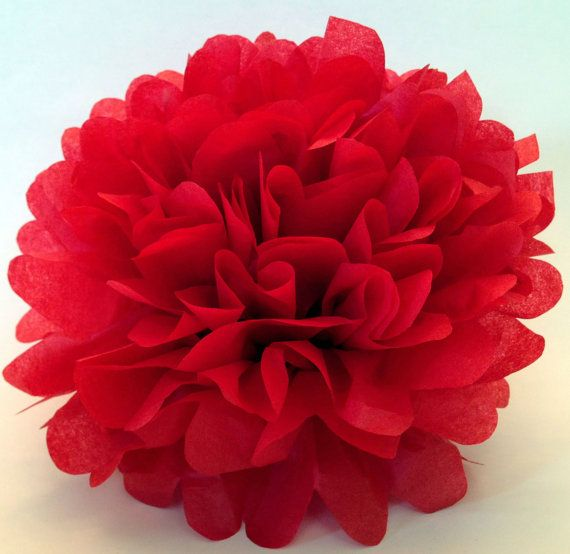 Happy Valentine's everybody from TamsCorner.etsy.com https://www.etsy.com/listing/176076113/18-inch-large-cherry-red-pom-pomparty