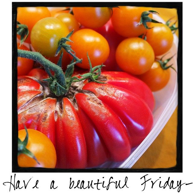 Have a Beautiful Friday! Grab some gorgeous produce from your garden or your…