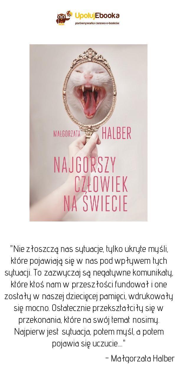 79faadee Najgorszy człowiek na świecie - Małgorzata Halber ebook, książka ...