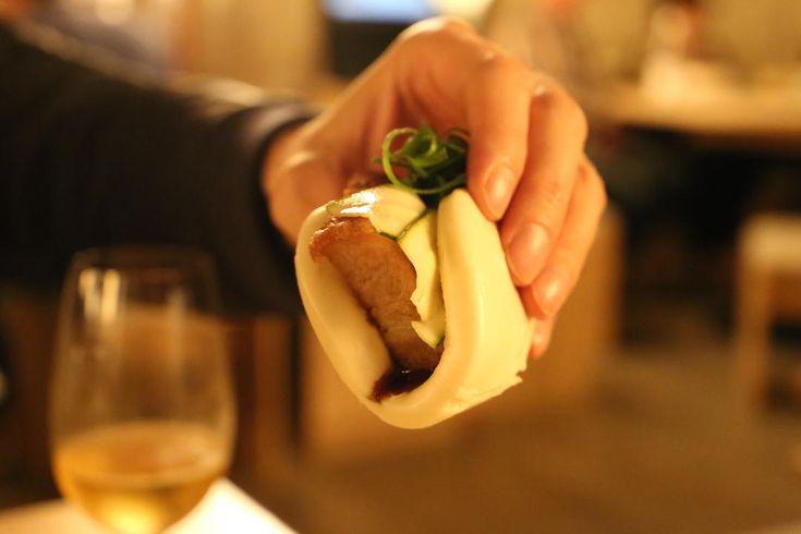 Suckling pork bun, Cha Li Boi, Yum Cha and Bar, Bondi Junction, Sydney