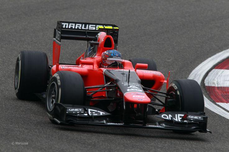 2012 GP Chin (Charles Pic) Marussia MR01 - Cosworth