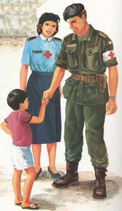 UNIFORMS Lebanon 1982