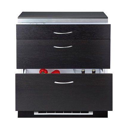 Les petites cuisines peuvent rarement accueillir un réfrigérateur traditionnel de taille normale. Plus original qu'un mini réfrigérateur, IKEA propose un réfrigérateur à tiroirs qui s'intègre parfaitement dans les meubles de cuisine. Discret, aussi efficace qu'un appareil traditionnel, il permet d'accéder facilement aux aliments entreposés dans le fond.  Réfrigérateur Frostig IKEA: 899 euros