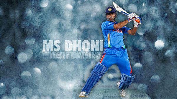 Indian cricketer MS Dhoni - free wallpaper download 2014 for desktop background