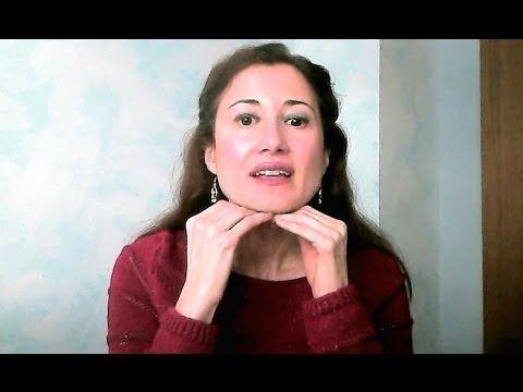 ▶ ELIMINAR LA PAPADA Y REAFIRMAR OVALO FACIAL Y CUELLO-Rutina 2 - YouTube