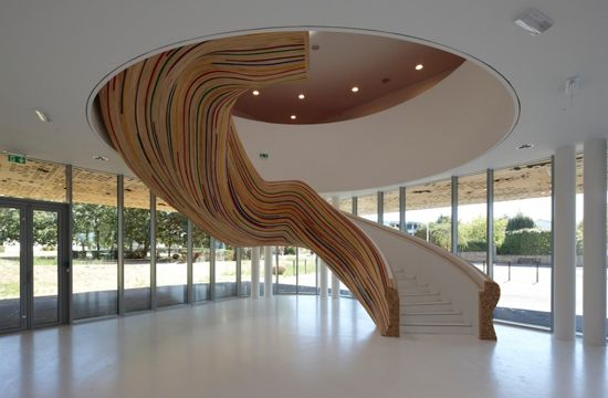 swoooooooooon...School of Arts by Tétrarc Architects