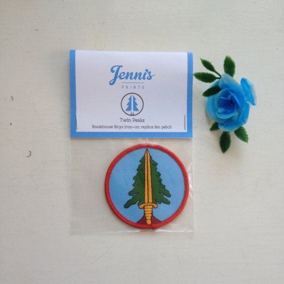Twin Peaks Bookhouse Boys ironon replica patch by JennisPrints
