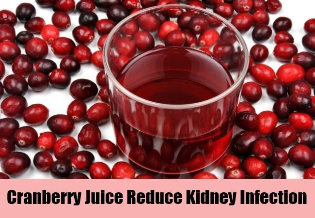 Cranberry Juice Reduce Kidney Infection