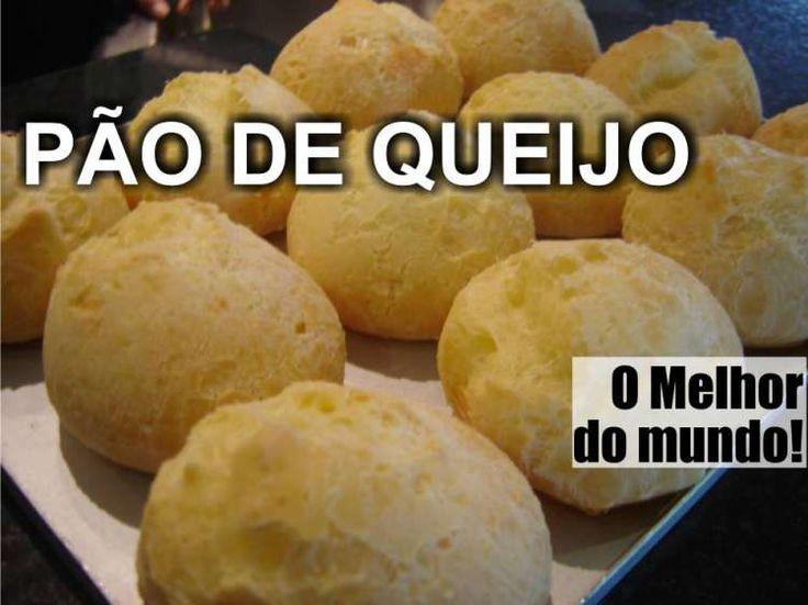 Se existe algo legitimamente brasileiro é o nosso pão de queijo! Pesquisei entre várias receitas e essa é a que mais gostei de preparar. Fica com um