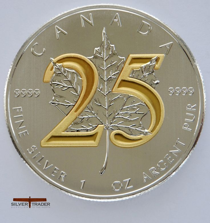 Canadian maple Commemorative gold gilded Numbers coin