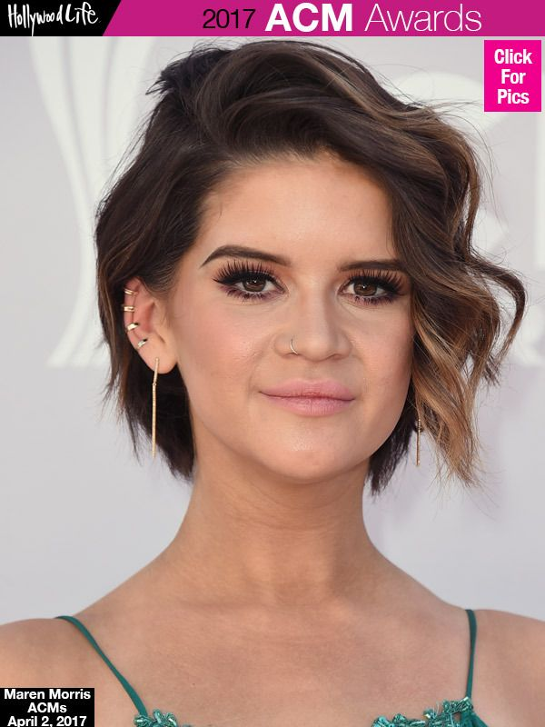 Maren Morris Shows Off Dramatic Pixie Hair Makeover AtACMs