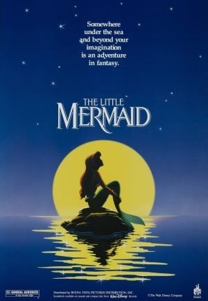 "original ""teaser"" poster for the Little Mermaid :)"