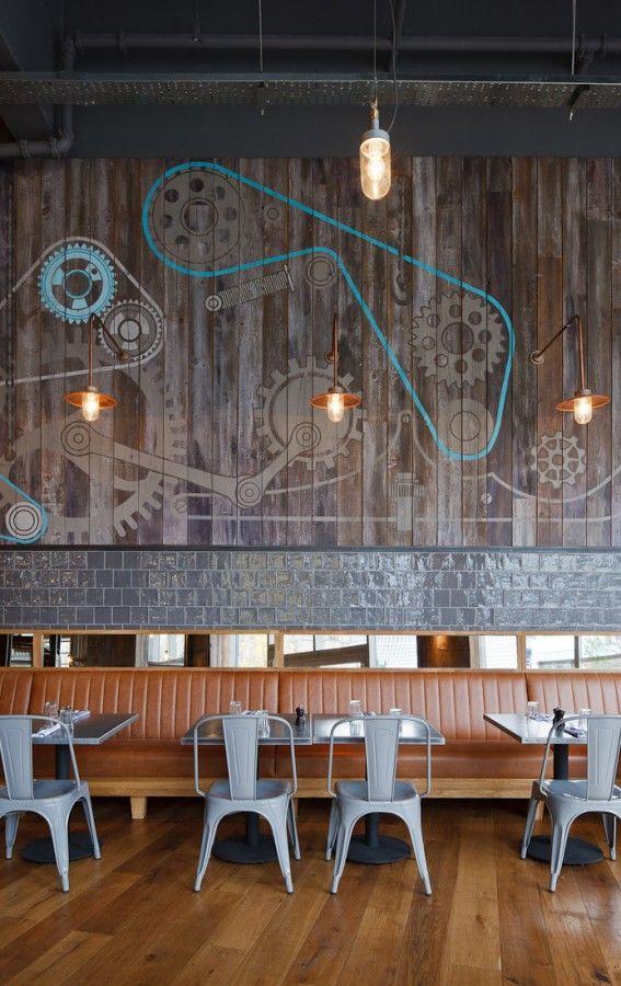 Restaurant Design Description : Best images about restaurant interiors handmade