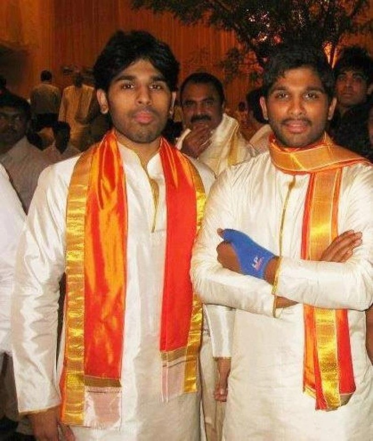 Allu Arjun & his brother