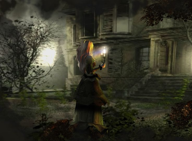 """Haunting"" Captured Inside IMVU - Join the Fun! i think this picture is actually pretty or its just capures an essence ya know"