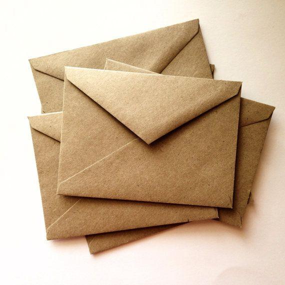 25+ beste ideeën over Kraft envelopes op Pinterest - Betekent ...