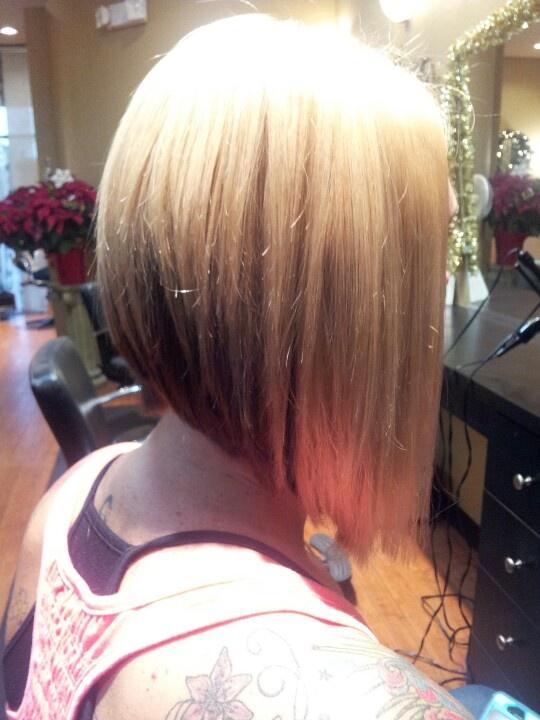 Angled Bob Haircut Hair Pinterest Nice Angled Bobs