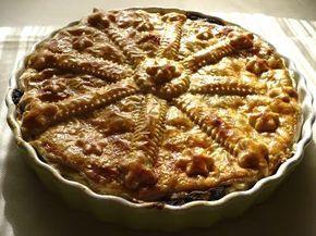 """""""Anya, ez isteni!..."""", avagy Gabojsza konyhája: Vajas tésztában sült erdei gombás vaddisznó ragu"""