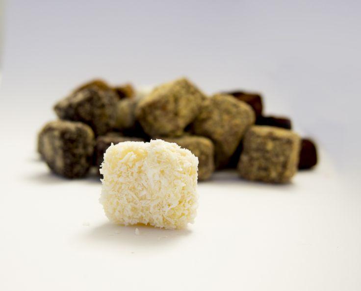 LA truffe blanche. Des arômes exotiques pour se sentir en vacances à chaque bouchée !