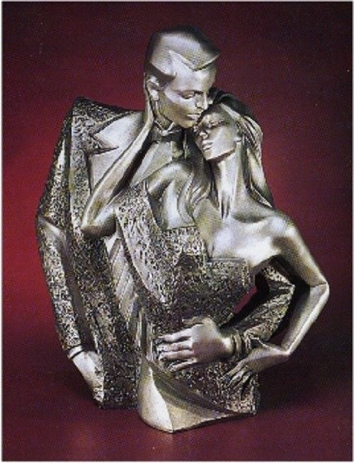 Austin Sculpture Petit Ce Soir Retired Alexander Danel