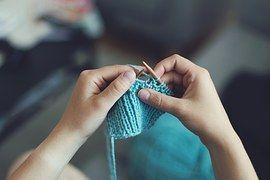 Knit, Sew, Girl, Female, Make, Produce
