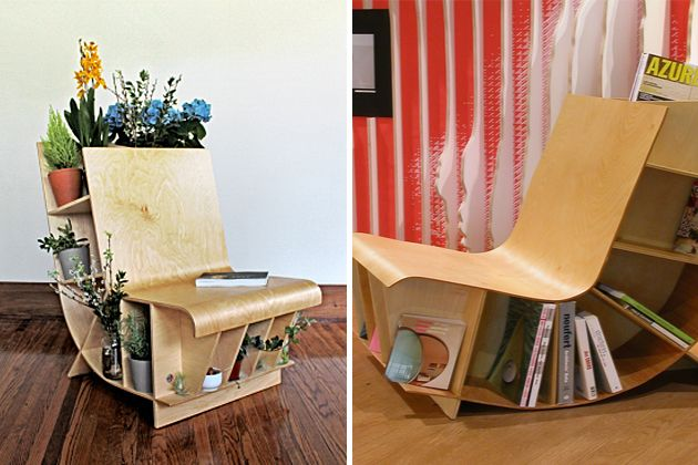 Locally Sourced Maple Wood Bookseat