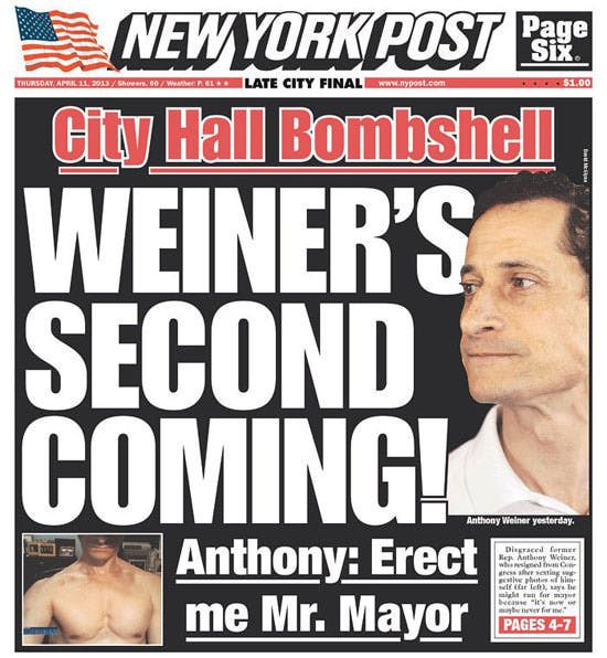 These Weiner jokes keep coming